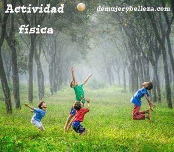 Actividad física y sus beneficios