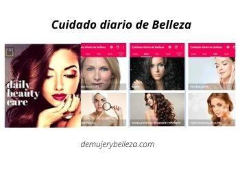 App para cuidado diario de Belleza
