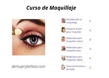 Aplicación curso de Maquillaje