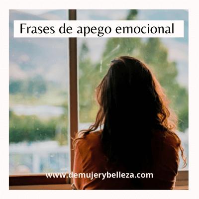 Frases de apego emocional